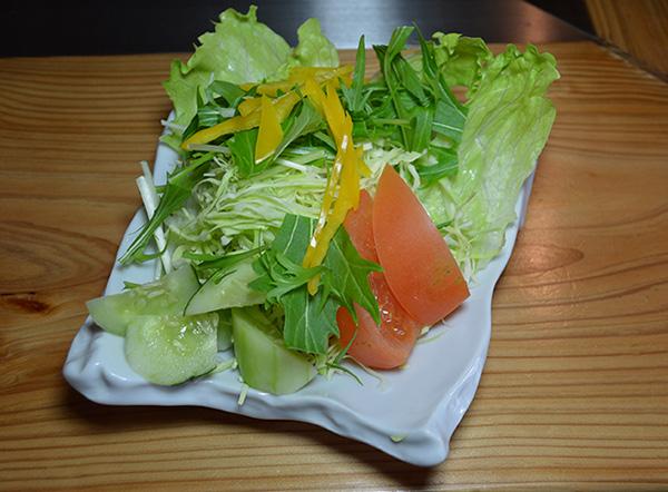 おくの野菜サラダ