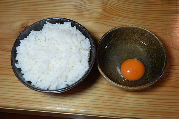 おくの卵かけごはん